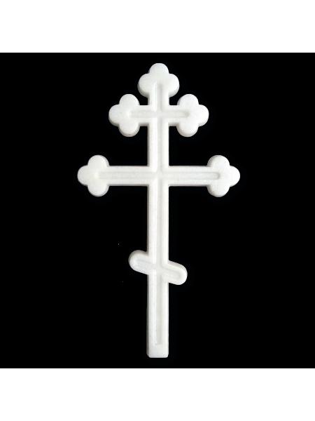 Крест 195*110 Православный М10 полимер (мрамор)