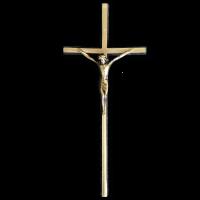 Крест с распятием 250*120 Католический ED
