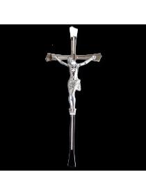Крест с распятием 300*120 Православный серебро ED