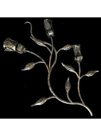 Роза 540*340 Ковка