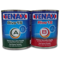 Клей-шпаклевка эпоксидный RIVO-15 (1L+1L) TENAX