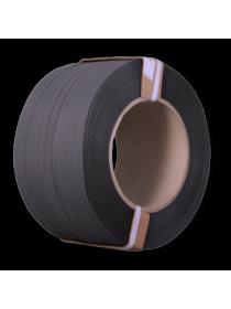 Лента полипропиленовая 16*1500 мм черная усиленная