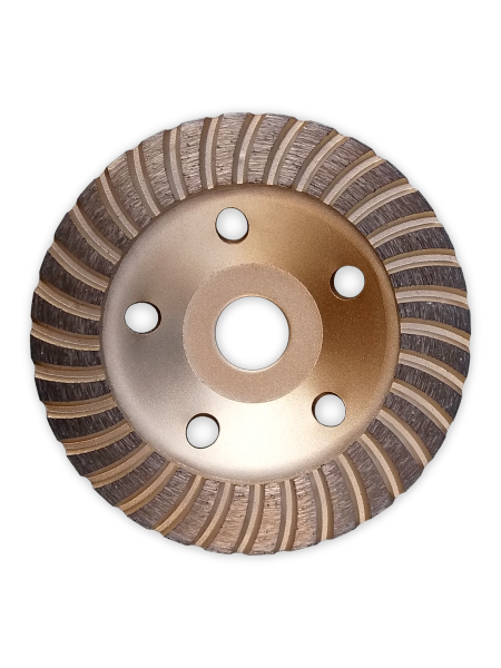 Фреза Алмазная Торцевая по бетону 125 22.23 Turbo gold EC
