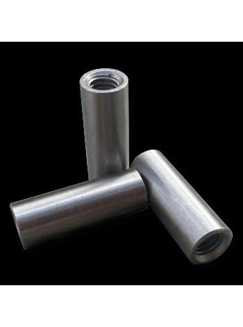 Втулка стальная с резьбой 9х25